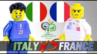 LEGO World Cup 2006 ITALY - FRANCE