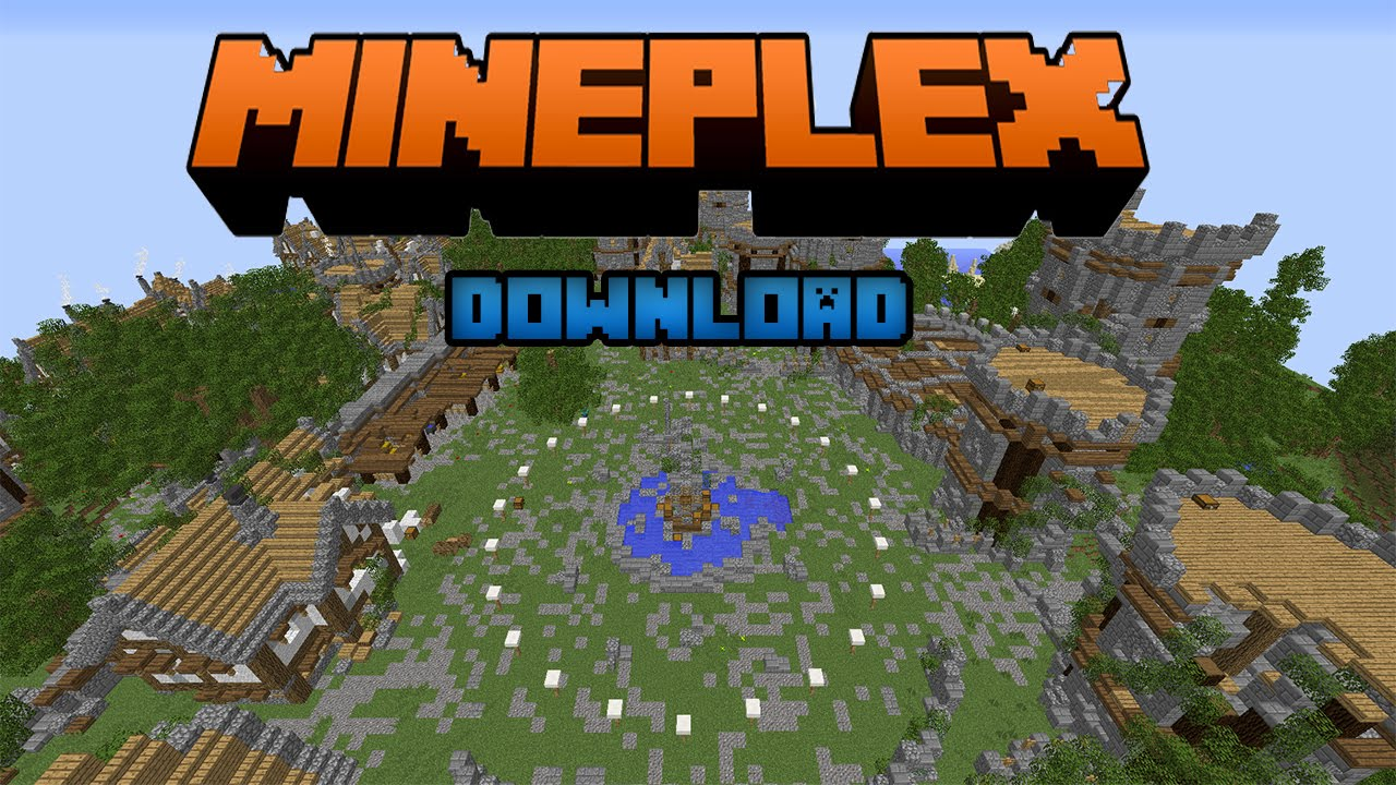 minecraft survival games map download