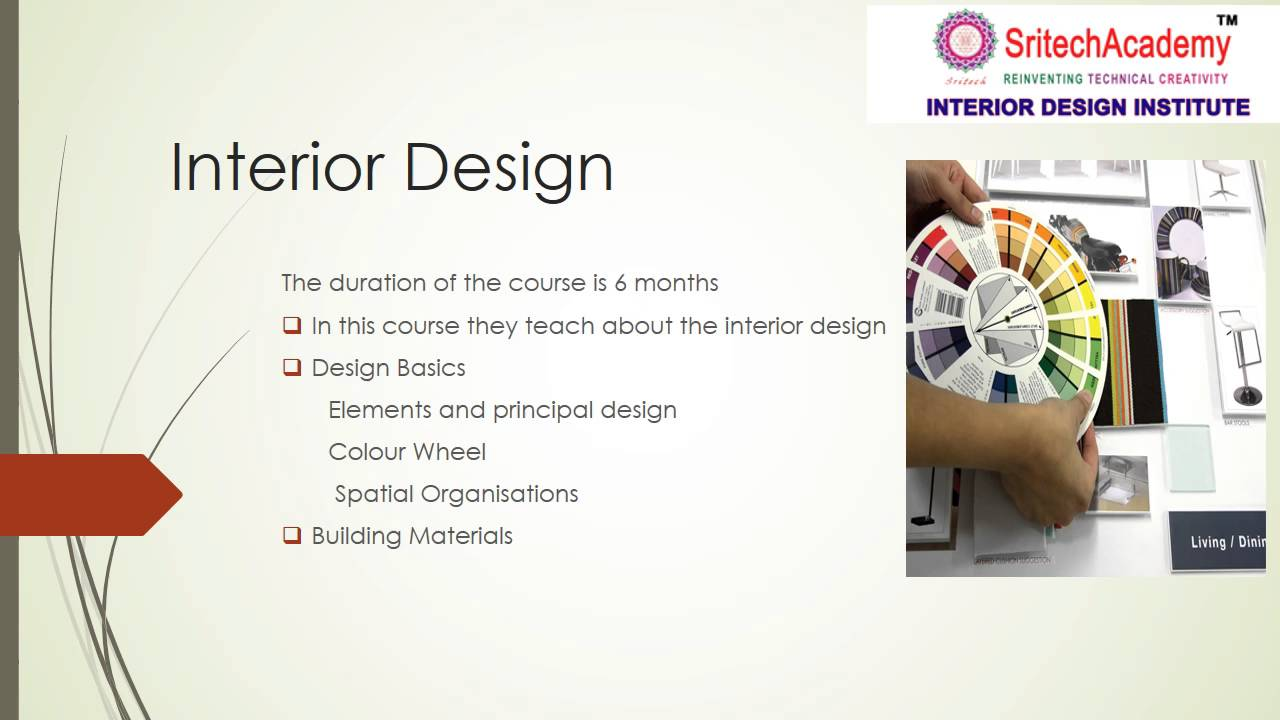 best interior design institute in kolkata sritech academy youtube