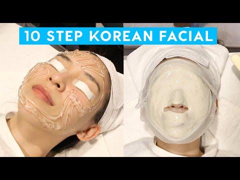 I Got A 10 Step Korean Facial