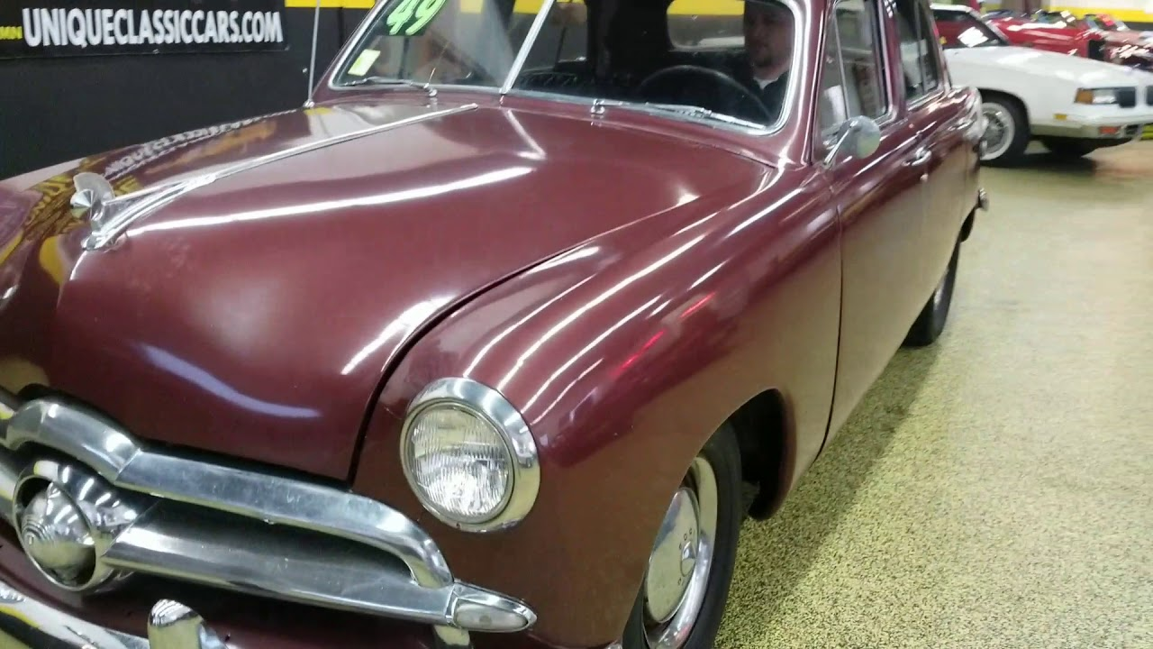 1949 Ford 4 Door Sedan Youtube 2 Hardtop