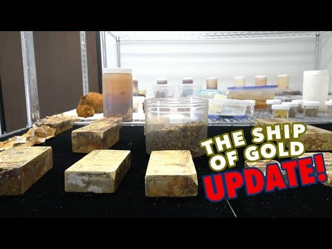 CoinWeek: SS Central America Ship of Gold Million Dollar Treasure Haul - Update