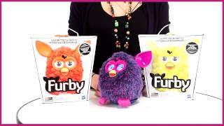 Furby  Интерактивная игрушка Теплая волна A0002H) Фиолетовый Желтый Оранжевый
