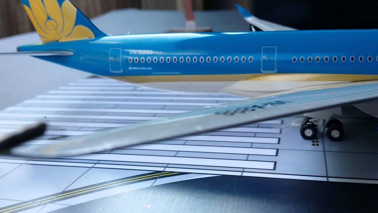 Gemini 200 Vietnam Airlines A350-900XWB Review by Triple7Diehard4ever