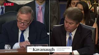 Sen. Durbin to Kavanaugh: Give us some reassurance to your commitment to democracy
