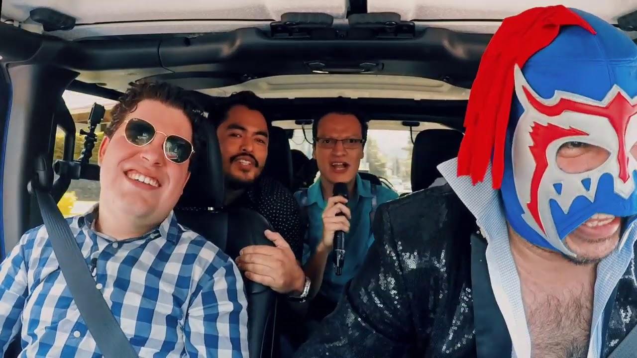 CojoFeliz, OjitosDeHuevo y Kike Vázquez con Escorpión al volante