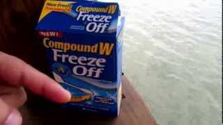 Compound W Freeze Off Wart remover - 3 month follow up