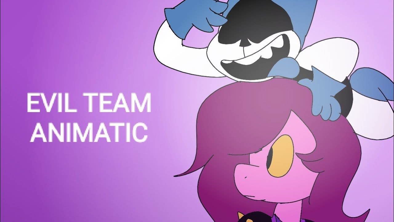 DELTARUNE ANIMATIC - Evil Team by CG5
