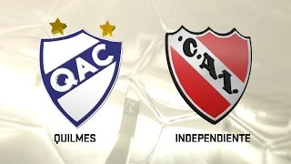 Quilmes vs CA Independiente full match