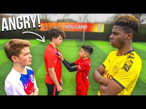 11 Year Old Kid RONALDO vs TRASH Talker.. Who Will Win the Football Game