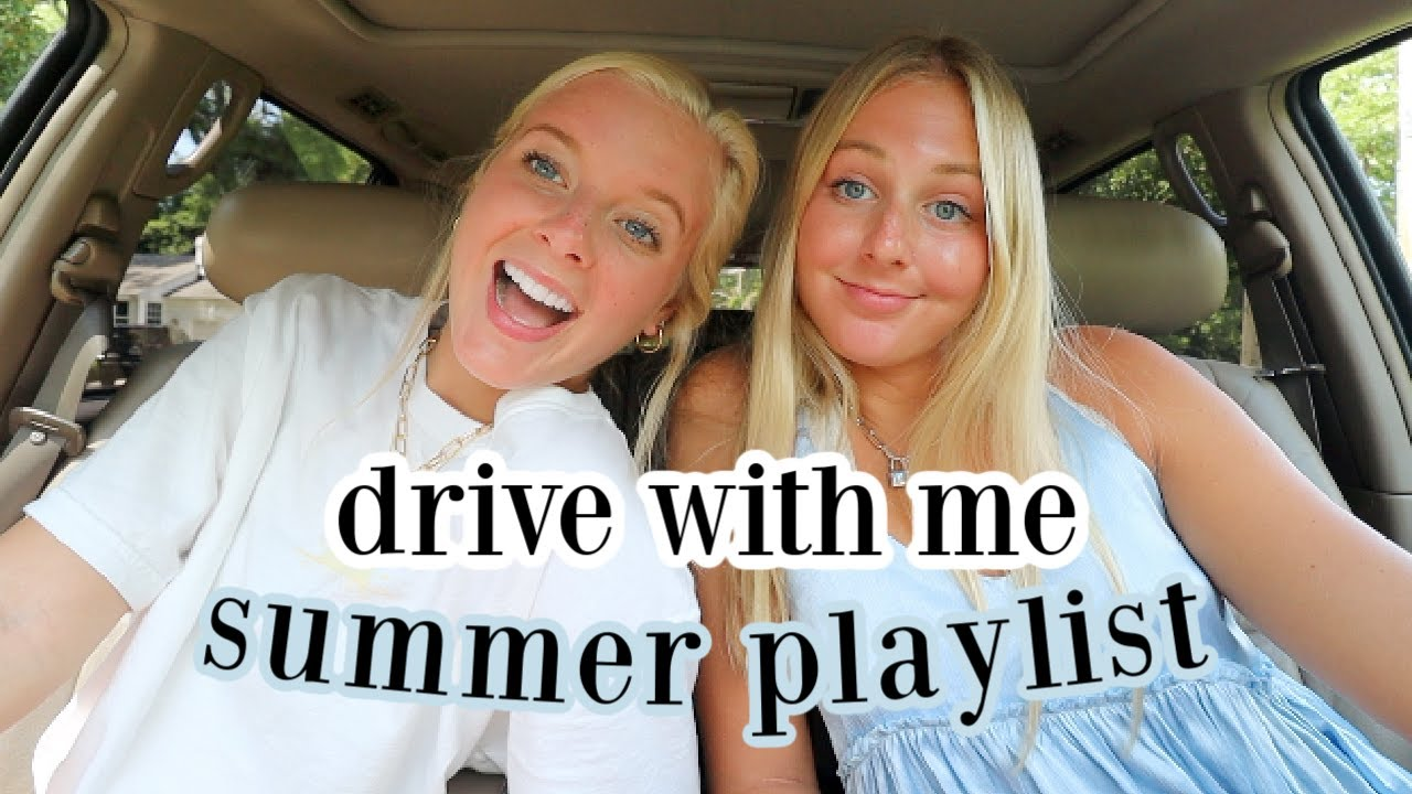 drive with me: throwback summer 2020 playlist!