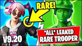 *NEW* ALL Fortnite v9.20 Leaked Skins | NEW RARE TOY TROOPER SKIN (Fortnite Update)