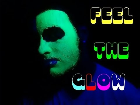 DIY Blacklight Face Paint!!!!!