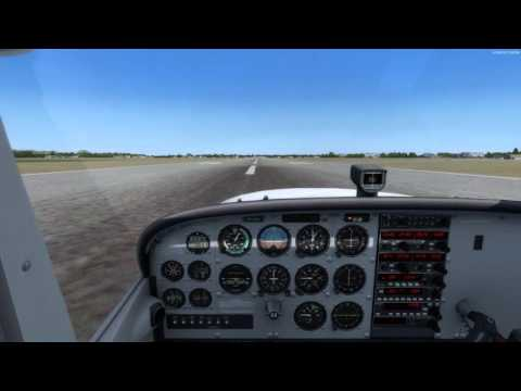A2A Cessna 172R Traffic Pattern/Landing