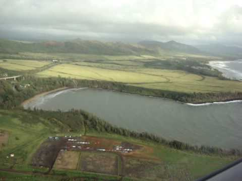 Taking off from Lihue on Mokulele Airlines