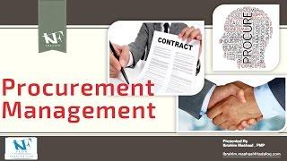 PMP Day 7  Procurement Management  إدارة توريدات المشروع