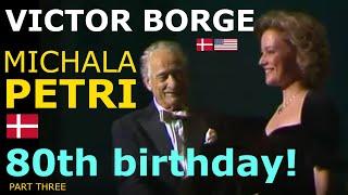 Victor Borge - 80th birthday (English & Portuguese subtitles)