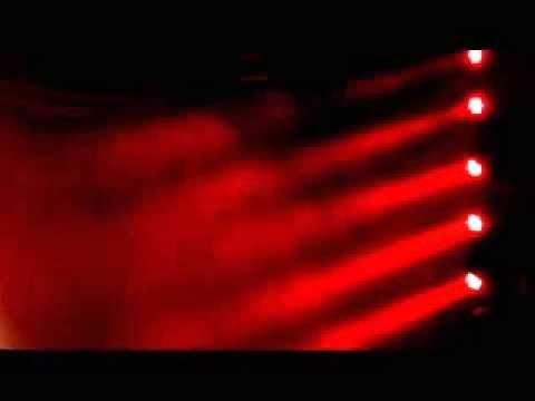 Art-Beam Lighting 7*10W Led Moving Head Wash AB-107MW Effect