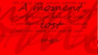 musik-enya a moment lost