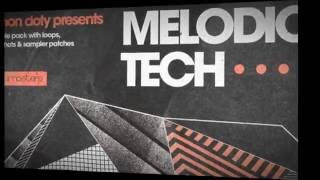 Simon Doty Presents Melodic Tech - Tech House Samples Loops - Loopmasters Samples