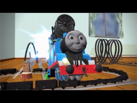 [MMD Cup finals 9th]Nice Train.[THOMAS AND FRIENDS – Never Never Never Give Up – ]
