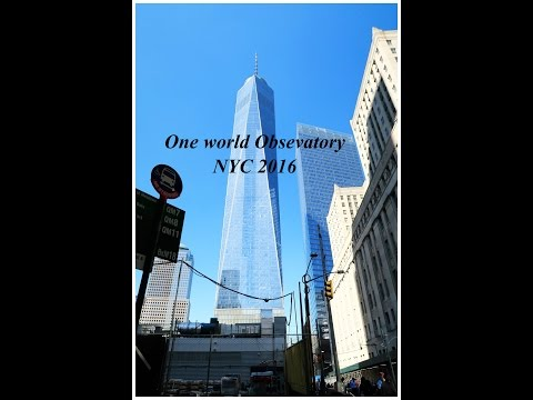 My Postcards 007:One world trade:Most incredible view of New York