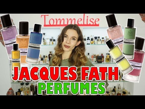 NICHE PERFUMES By JACQUES FATH FULL LINE OVERVIEW  | Tommelise