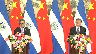 El Salvador and China establish diplomatic ties