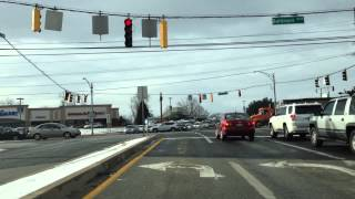 Maryland MVA Driving Test Route (Westminster - Route 1)