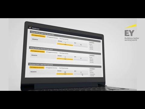 EY Canvas Client Portal - den Stand der Prüfung in Echtzeit verfolgen