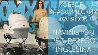 видео Обзор коляски для новорожденных Peg-Perego