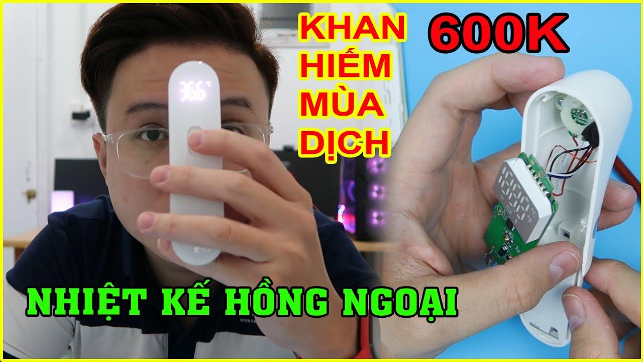 KHÔNG THỂ THIẾU trong mùa Dịch - Nhiệt Kế Hồng Ngoại Xiaomi. Mở Hộp và Mổ Bụng  | MUA HÀNG ONLINE