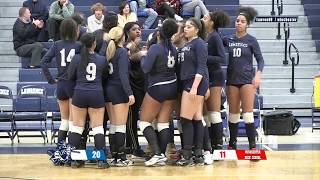 LHS Girls Volleyball Playoffs vs Winchester 2018