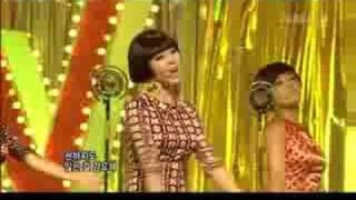 Wonder Girls - Nobody [Inkigayo 080928]