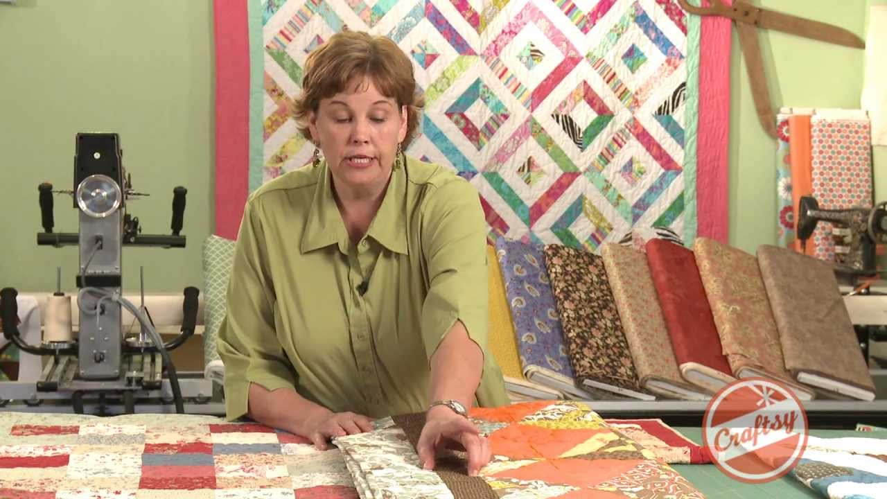 How To Add Borders to Your Quilts with Jenny Doan from Quilting ... : multiple quilt borders - Adamdwight.com