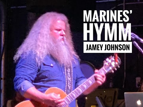 "Jamey Johnson ""Marines' Hymm"" on Nov 10th Birthday of the Marine Corps, Live at The Orpheum, Boston"
