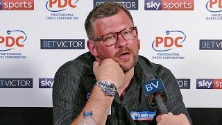 James Wade: 'I'm better than that.' 2007 champ scrapes through to 2nd round