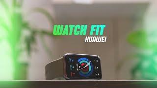 Обзор Huawei Watch Fit. Умные неумные часы.