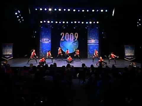 Southcoast Freestyle Senior Jazz 2009 Worlds