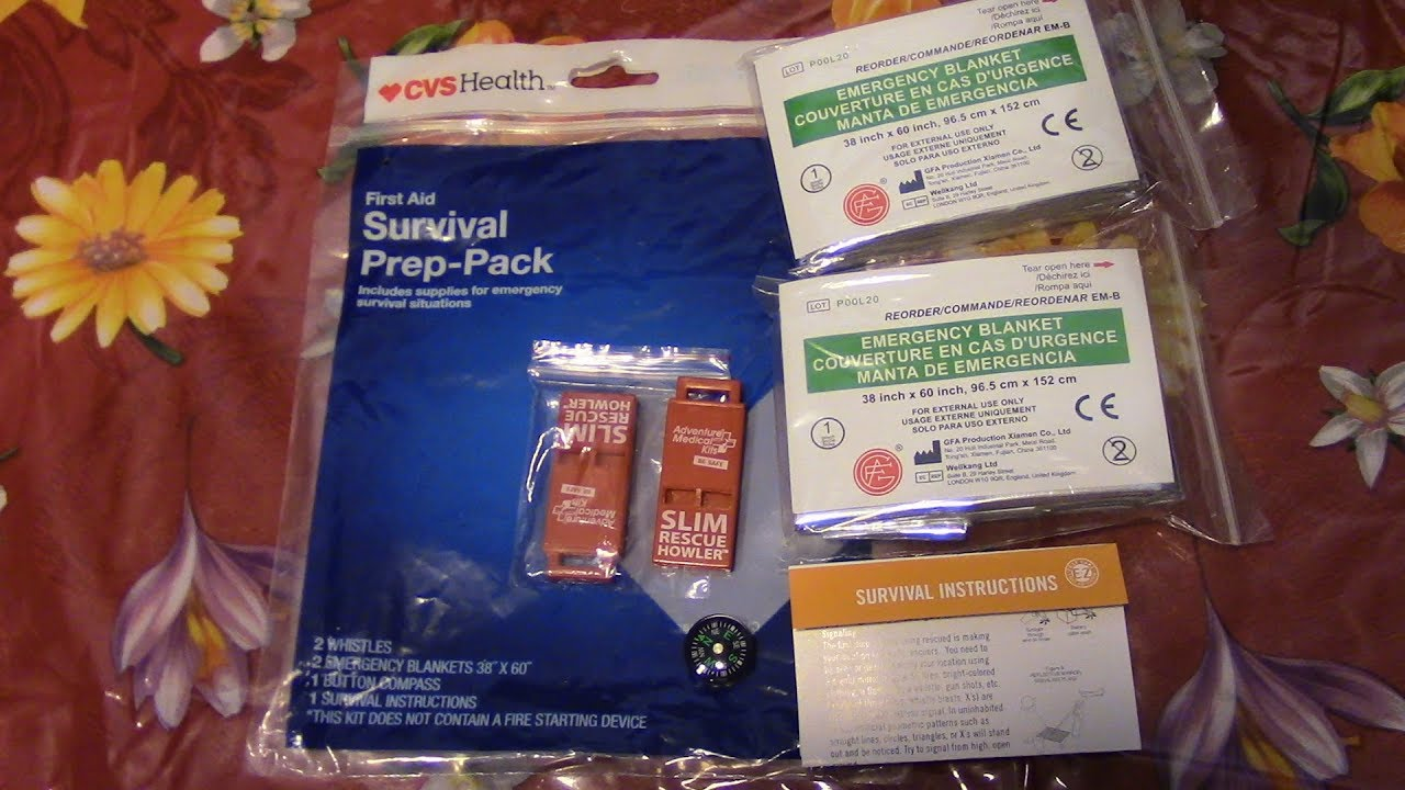 An Inexspensive Way To Build Or Refill Your First Aid Kit From CVS