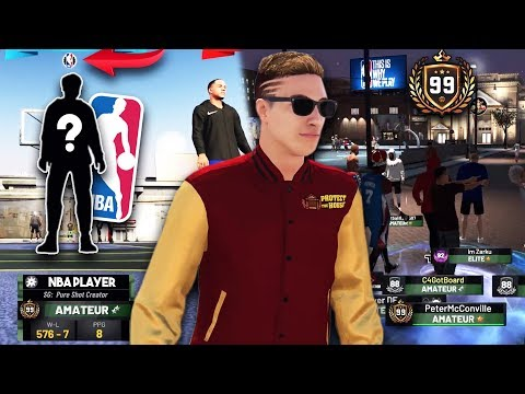 *REAL* NBA PLAYER GIVES ME MY FIRST WIN ON XBOX!! PeterMc + Power DF Take Over NBA 2K19!