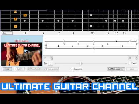 Guitar Solo Tab] Open Arms (Journey) - YouTube