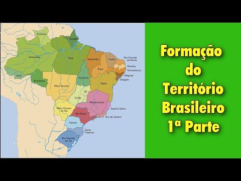 FORMAÇÃO TERRITORIAL DO BRASIL 1a Parte