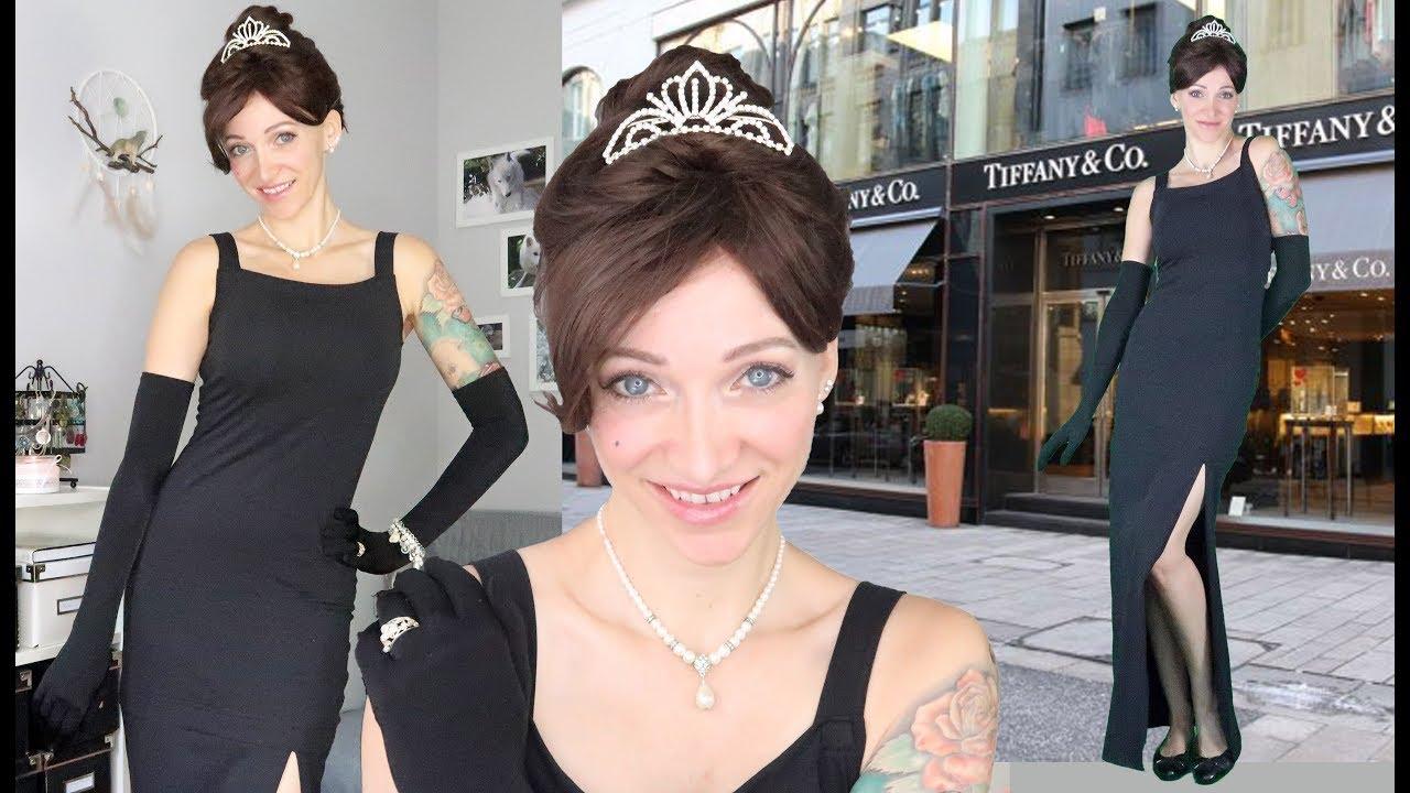DIY Holly Golightly Costume | Breakfast At Tiffanyu0027s Costume | Halloween 2017 #1  sc 1 st  YouTube & DIY Holly Golightly Costume | Breakfast At Tiffanyu0027s Costume ...