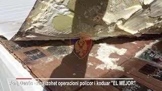 Kokaina nga Ekuadori në Shqipëri/ Ja sa ishte sasia e fshehur në kontejnerin me banane. Pamjet