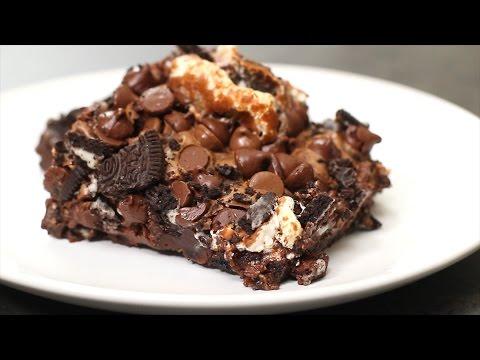 brownies med marshmallows recept