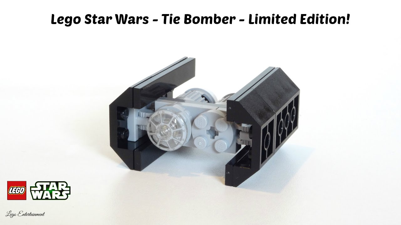 Lego Star Wars Tie Bomber Exclusive Limited Edition Youtube