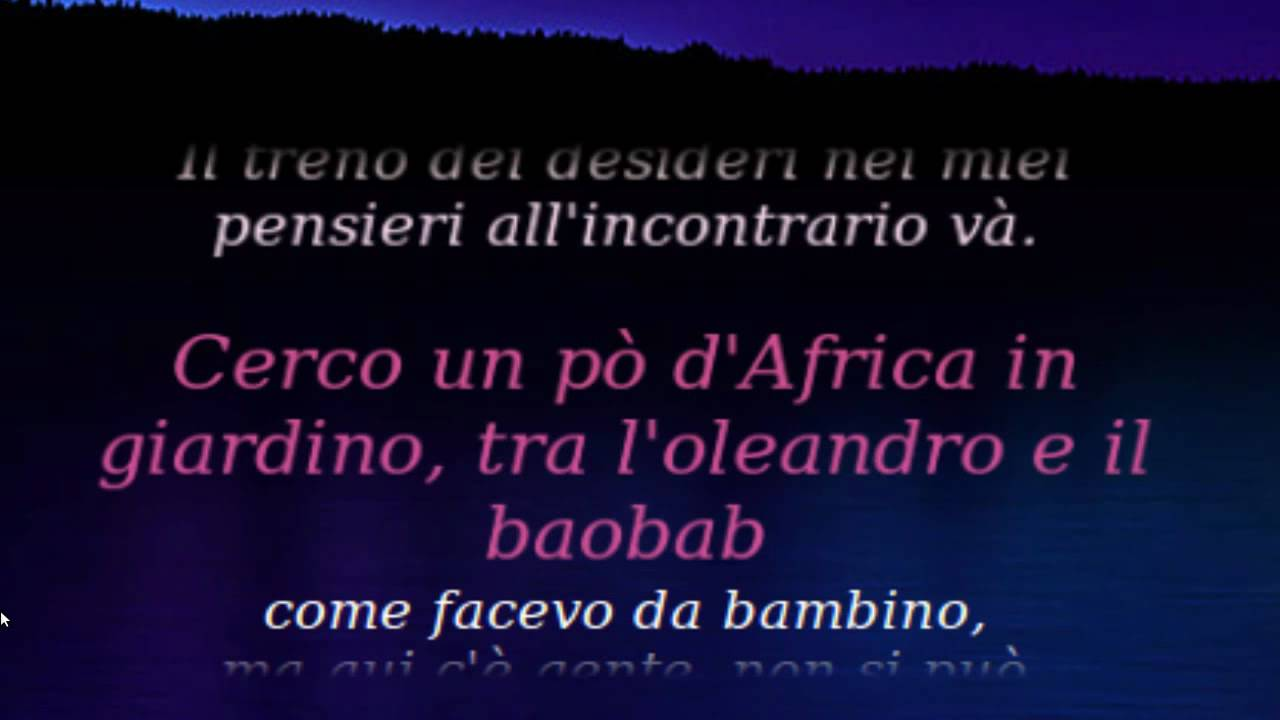 Azzurro lyrics by Adriano Celentano - original song full ...