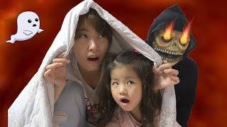 놀이터에서 밤늦게 놀면 귀신이 따라와요!! 서은이의 신비아파트 놀이터 귀신 킥보드 씽씽카 Ghost