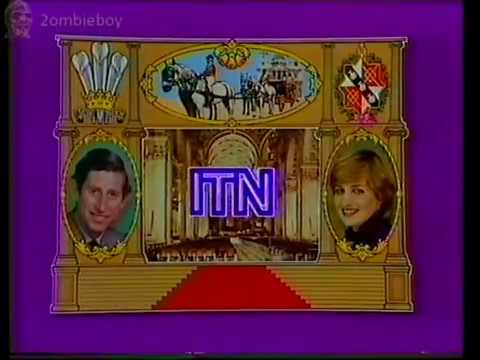 Charles & Diana Royal Wedding ITN Christmas Day special 25-12-1981 (VHS Capture)